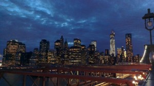 New York Skyline at Night