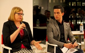 Speaking at the OPAM panel at Buzzfeed