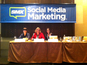 The Advanced Facebook Tactics panel at SMX Social Media Marketing