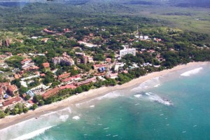 Tamarindo from the air